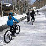 Snow Biking Vail Colorado